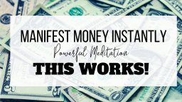 Use Law Of Attraction To Manifest Money Inside 2 Days